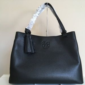 Tory Burch NWT THEA CENTER ZIP TOTE